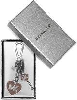 MICHAEL Michael Kors Key Charms MK Enamel Heart Key Chain