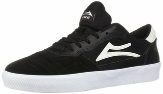 Lakai Footwear Cambridge Black/White SUEDESize 6 Tennis Shoe