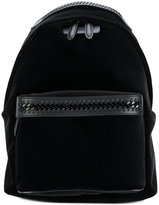 Stella McCartney Falabella GO backpack - women - Artificial Leather/Velvet/metal - One Size