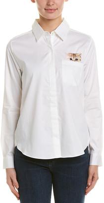 Paul & Joe Sister Leotine Cat Pocket Shirt