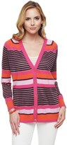 Juicy Couture Berenson Stripe Long Cardigan