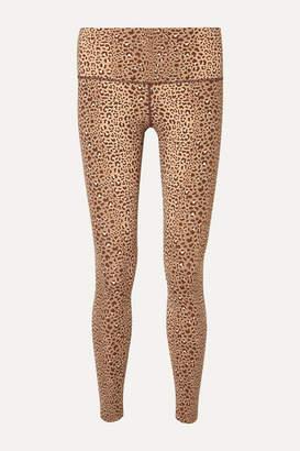 Varley Estrella Leopard-print Stretch Leggings - Leopard print