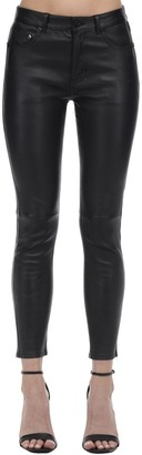 Saint Laurent Slim Leather Pants