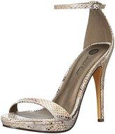 Michael Antonio Women's Lovina-Met-Snake Dress Sandal
