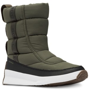 Sorel Women's Out N About Mid Puffy Boots Women's Shoes