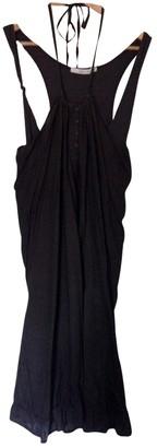 Ikks Brown Cotton Dress for Women