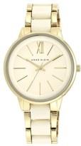 Anne Klein Round Bracelet Watch, 43mm