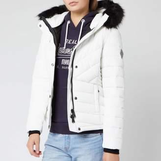 Superdry Women's Icelandic Jacket - Optic - UK 12