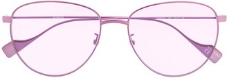 Balenciaga Eyewear Round Tinted Sunglasses