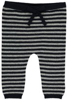 Nice Things Striped Wool and Cashmere Leggings