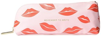 Kate Spade Lips Pencil Case (Pink) Wallet