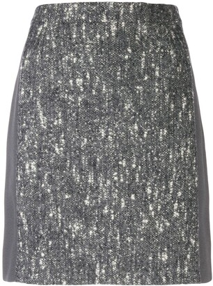 Balenciaga Pre-Owned 2000's marled A-line skirt