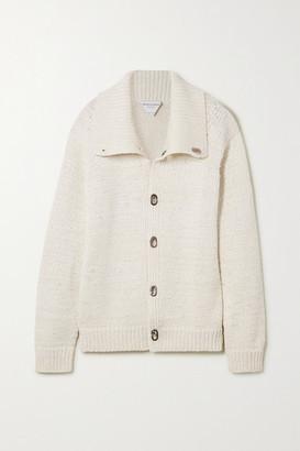 Bottega Veneta Oversized Knitted Jacket - White