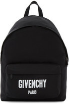 Givenchy Black Urban Logo Backpack