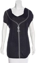 Thomas Wylde Graphic Jersey Top