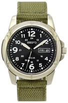 Seiko Solar V158-0AD0 Stainless Steel 39mm Mens Watch
