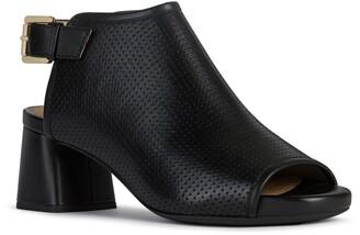 Geox Genziana Mid Block Heel Sandal