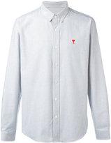 Ami Alexandre Mattiussi button-down logo shirt - men - Cotton - 36