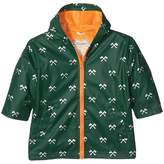 Hatley Silver Axes Splash Jacket (Toddler/Little Kids/Big Kids)