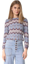 Marc Jacobs Long Sleeve Sweater