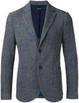 Giorgio Armani patch pockets blazer - men - Polyamide/Viscose/Cotton/Acetate - 50
