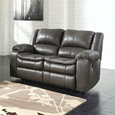 Signature Design by Ashley Long Knight Reclining Loveseat Type: Power,