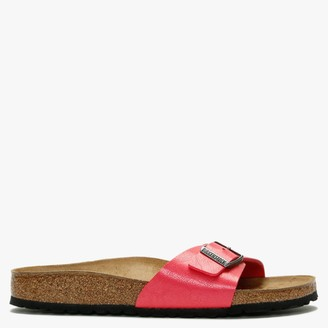 Birkenstock Madrid Graceful Raspberry Birko-Flor Mules