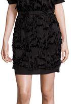 Carven Fringe Skirt