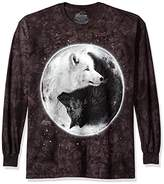 The Mountain Yin Yang Wolves Long Sleeve Tee