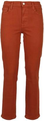 J Brand Orange Cotton Jeans