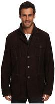 Stetson Suede Jacket w/ Wool Zipper Insert