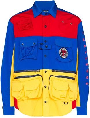 Polo Ralph Lauren Zip And Pocket Detail Jacket