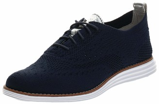 Cole Haan Women's Women'S Originalgrand Stitchlite Wingtip Oxford Blue