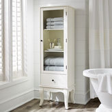 Pier 1 Imports Toscana Tall Snow White Cabinet