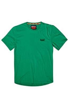 Superdry Men's Orange Label LITE TEE T - Shirt, Prime Green D3O, XL