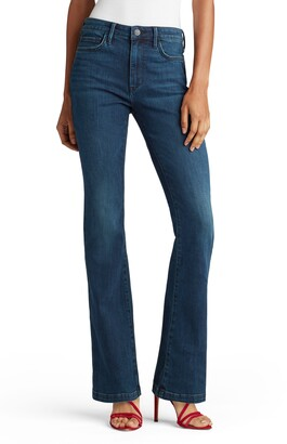 Sam Edelman The Stiletto High Waist Bootcut Jeans