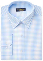 Club Room Men's Estate Classic-Fit Wrinkle Resistant Gingham Dress Shirt, Only at Macy's