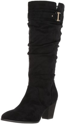 Dr. Scholl's Shoes Women's Devote Wide Calf Riding Boot