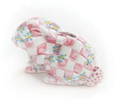 Mackenzie Childs MacKenzie-Childs - Quilted Bunny Money Box - Pink