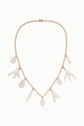 Eliou Porto Gold-plated Pearl Necklace - one size