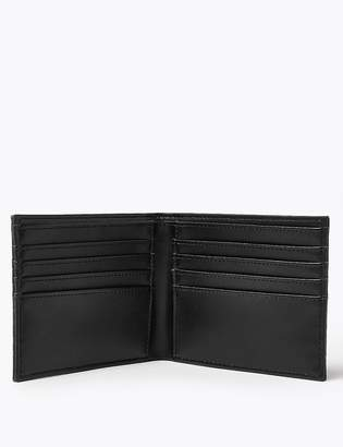 Marks and Spencer Mock Crocodile Leather Wallet with Cardsafe