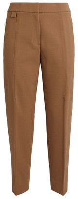 Theory Wool-Blend Tapered Trousers