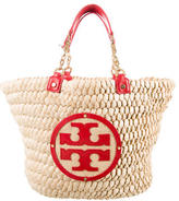 Tory Burch Audrey Straw Tote