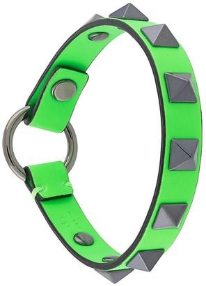 Valentino Rockstud-embellished bracelet