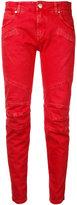 Pierre Balmain skinny cropped jeans - women - Cotton/Spandex/Elastane - 28