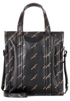 Balenciaga Bazar printed leather shopper