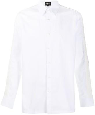 Fendi Button-Up Long-Sleeve Shirt