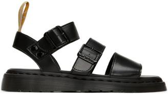 Dr. Martens Black Vegan Gryphon Sandals