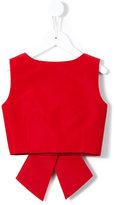 Little Bambah - Diana backless bow top - kids - Silk - 2 yrs