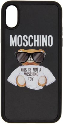 Moschino Black Bear iPhone X Case